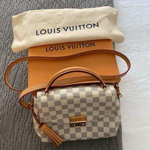 Louis Vuitton croisette D. Azur Canvas